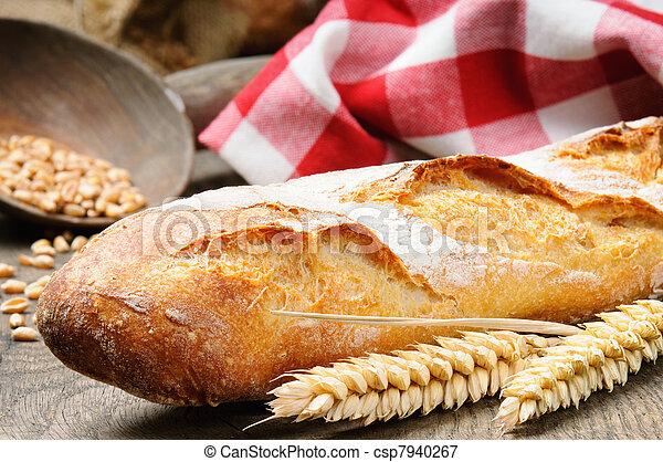 baguette, francais - csp7940267