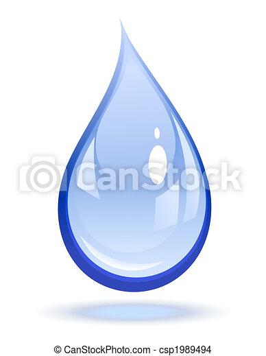 baisse eau - csp1989494