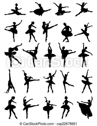 ballerines - csp22678661