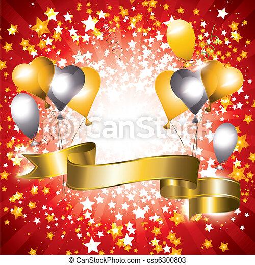 bannière, célébration - csp6300803