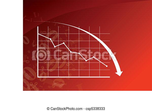 bas, graphique - csp5338333
