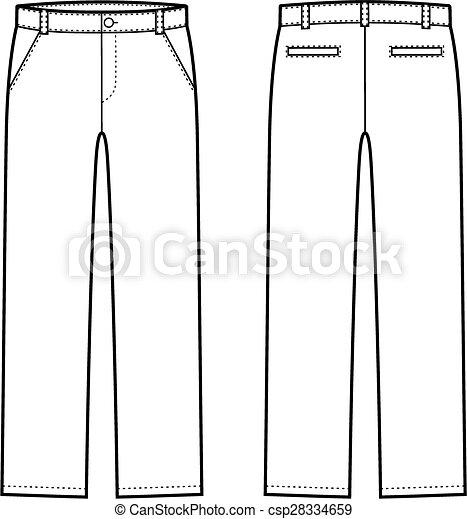 bas, pantalon - csp28334659