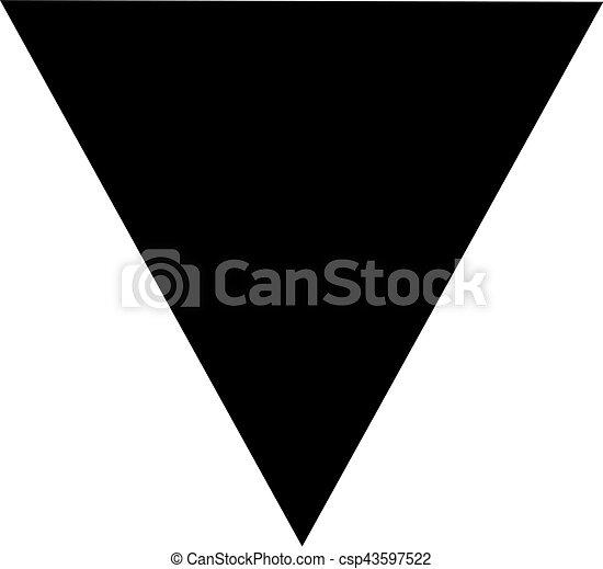 bas, triangle, dessus - csp43597522