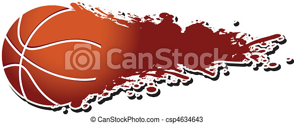 basket-ball, flamboyant - csp4634643