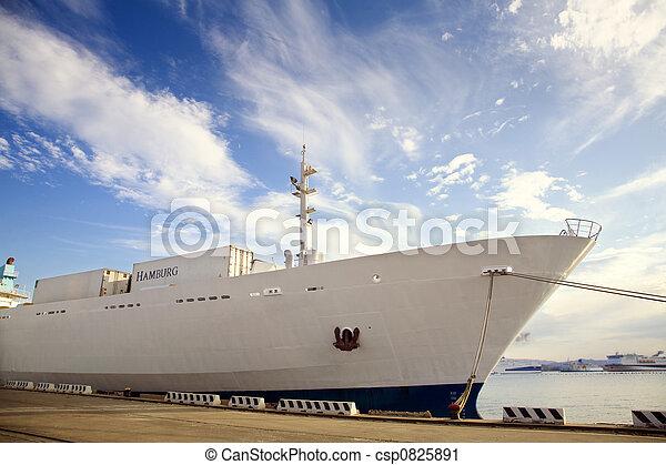 bateau, cargaison - csp0825891