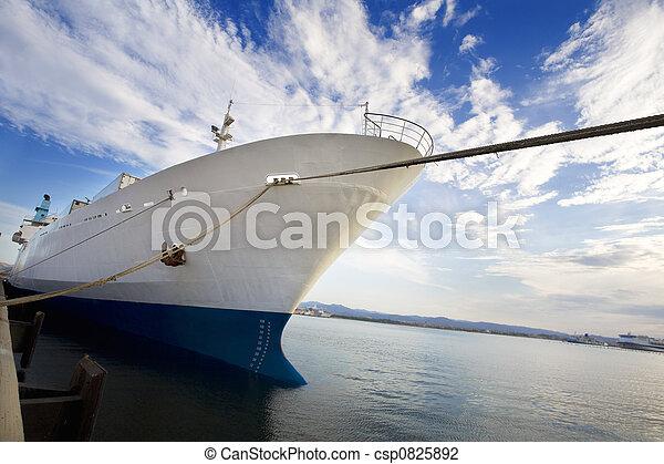 bateau, cargaison - csp0825892