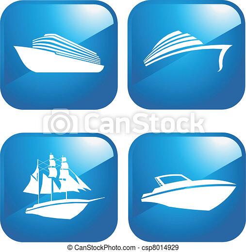bateaux, bateaux - csp8014929