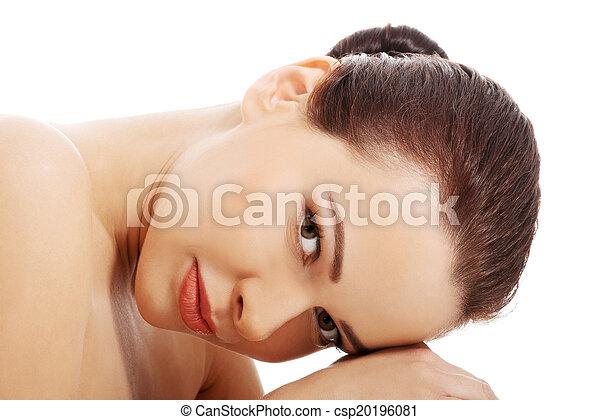 beau, spa, femme - csp20196081