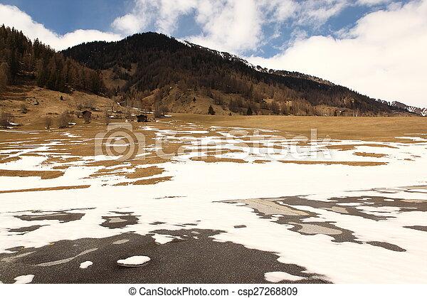 beau, suisse, emplacement - csp27268809