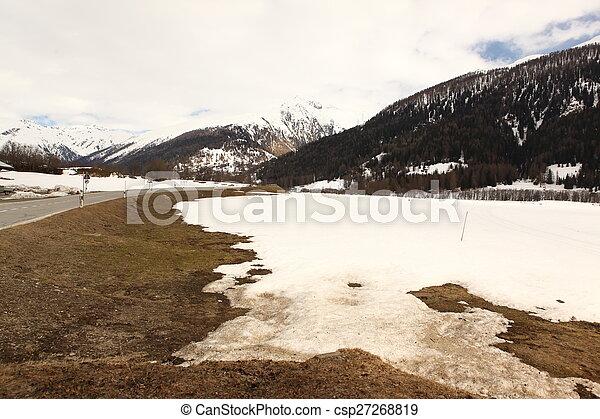 beau, suisse, emplacement - csp27268819