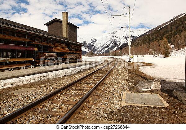 beau, suisse, emplacement - csp27268844