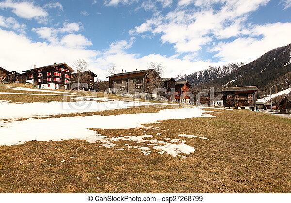 beau, suisse, emplacement - csp27268799