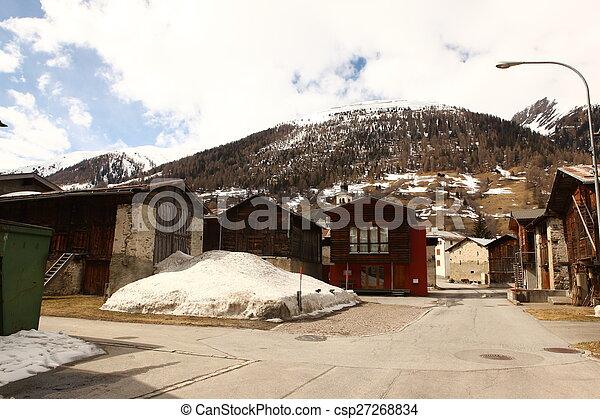beau, suisse, emplacement - csp27268834