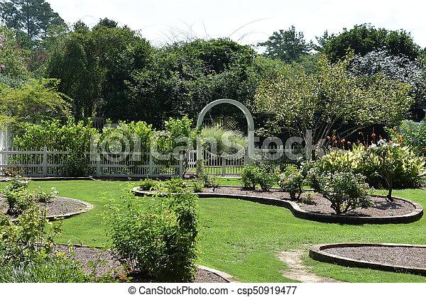 birmingham, alabama, jardins botaniques - csp50919477