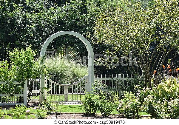 birmingham, alabama, jardins botaniques - csp50919478