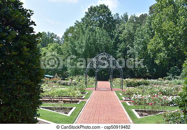 birmingham, alabama, jardins botaniques - csp50919482