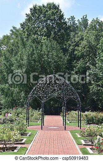 birmingham, alabama, jardins botaniques - csp50919483