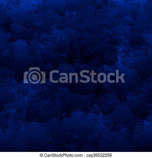 bleu, résumé, fond foncé, ton, design. - csp36532256