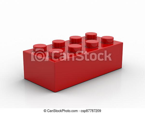 bloc, jouet - csp87787209