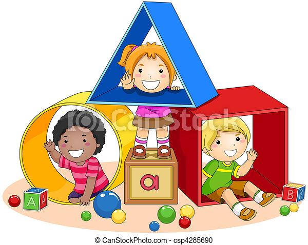 blocs jouet - csp4285690