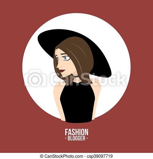 blogger, mode - csp39097719