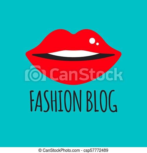 blogger, mode, logo - csp57772489