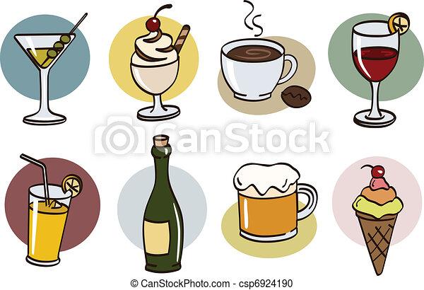 boisson, ensemble - csp6924190
