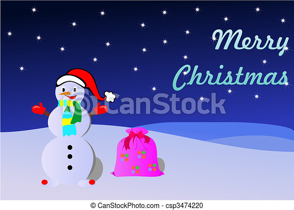 boule de neige - csp3474220