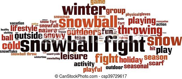 boule de neige, fight-horizon - csp39729617