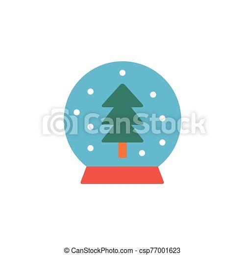 boule de neige - csp77001623