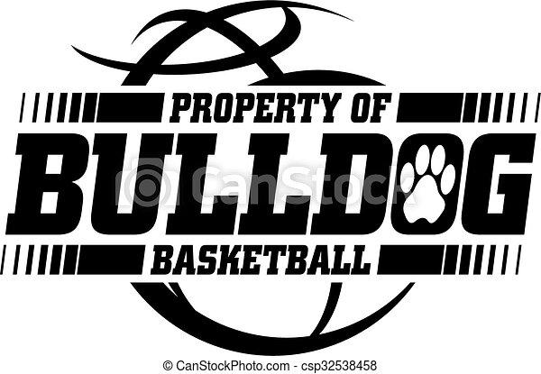 bouledogue, basket-ball - csp32538458