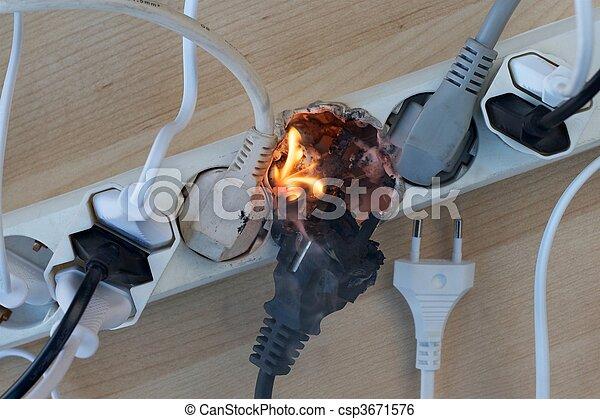 brûler, électrique - csp3671576