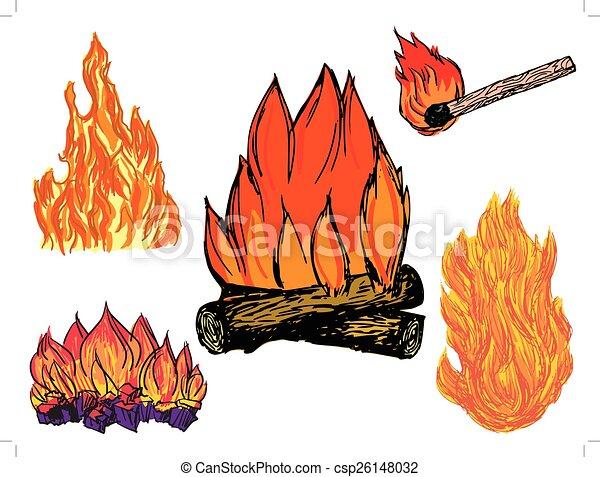 brûler - csp26148032