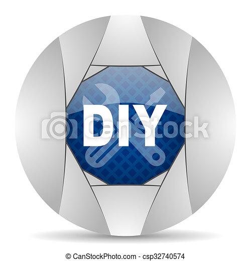 bricolage, icône - csp32740574