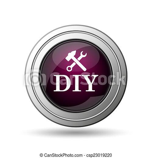 bricolage, icône - csp23019220