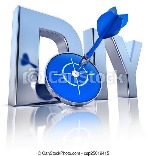 bricolage, icône - csp25019415