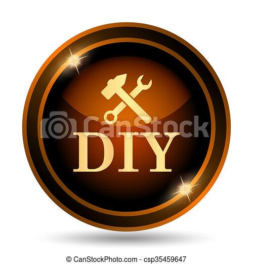 bricolage, icône - csp35459647