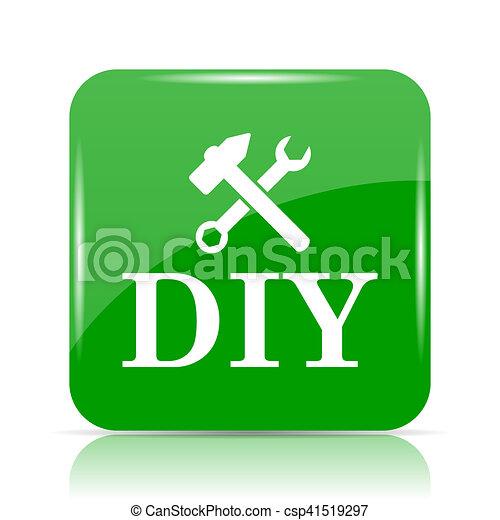 bricolage, icône - csp41519297