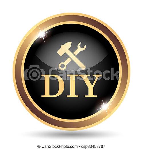 bricolage, icône - csp38453787