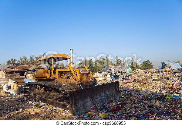 bulldozer - csp3668955