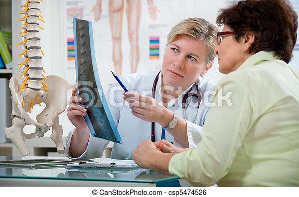 bureau, docteur - csp5474526