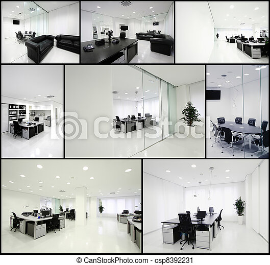 bureau, moderne - csp8392231