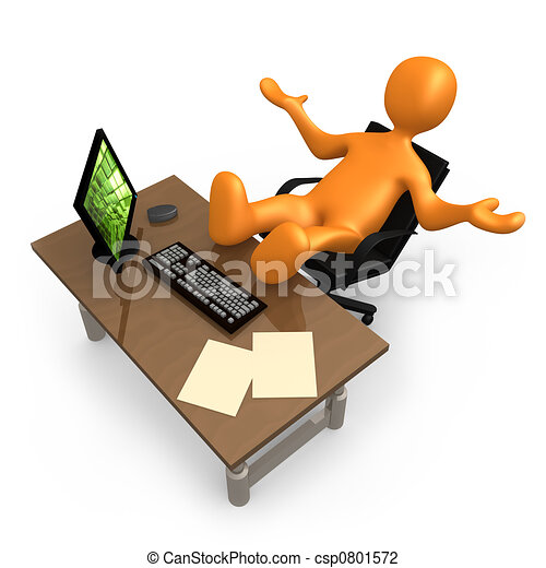 bureau, relaxation - csp0801572