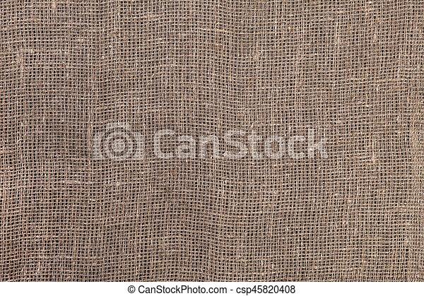 burlap, texture - csp45820408