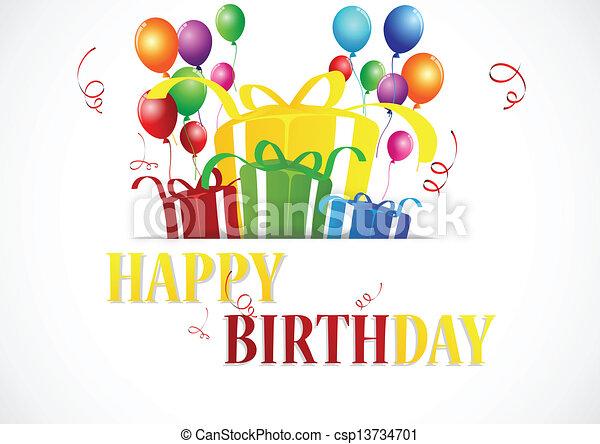 célébration anniversaire - csp13734701