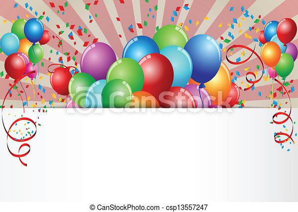 célébration anniversaire - csp13557247