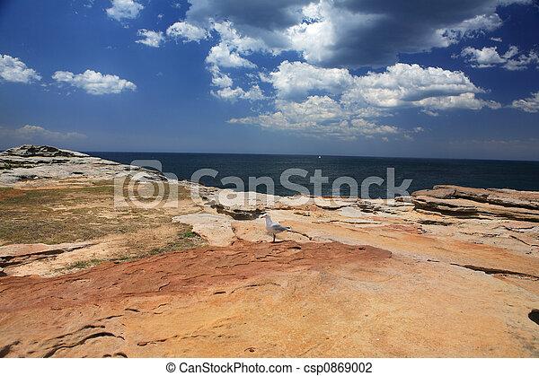 côtier, paysage - csp0869002