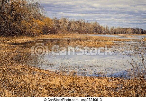 côtier, wetlands, grands lacs - csp27240613