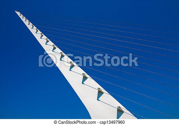 cadran solaire, pont - csp13497960