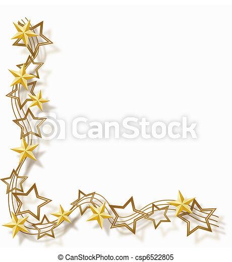 cadre, étoile - csp6522805